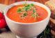 Томатный говяжий суп с фасолью и перцем