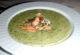 Крем-суп из шпината с лососем