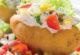Запеченный картофель с овощами