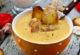 Суп с курицей и гренками