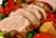 Свинина с овощами, запеченная в духовке