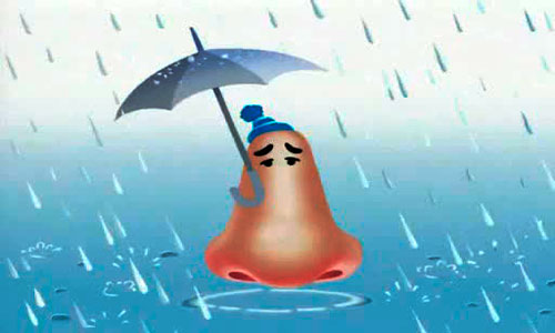 промывание носа-нос-под-дождем