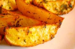запеченный картофель картинка
