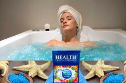 морская соль с пеной Crystals Health