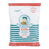 Соль морская пищевая йодированная 1кг